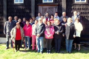 Účastníci duchovní obnovy na Gruni 2019